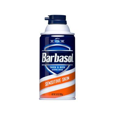 BARBASOL – SENSITIVE SHAVE CREAM